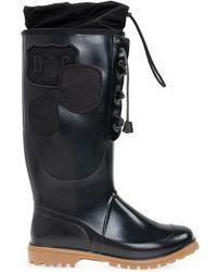 DSquared² 'dook' Rain Boots - Black