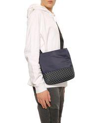 Emporio Armani Logo Shoulder Bag Navy Blue