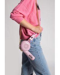 Moschino Hairdryer Shoulder Bag - Pink