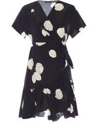AllSaints - 'rene' Floral Motif Dress - Lyst