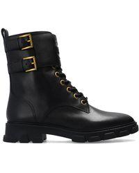 MICHAEL Michael Kors 'ridley' Combat Boots Black
