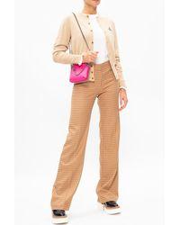 Vivienne Westwood Logo Cardigan Pink