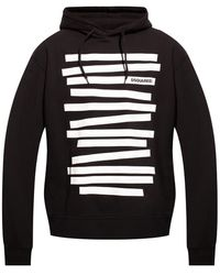 DSquared² Logo Hoodie - Black