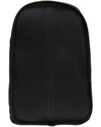 Homme Plissé Issey Miyake Ribbed Backpack - Black