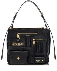 Moschino 'hobo' Shoulder Bag - Black