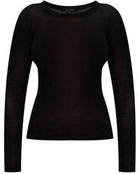 AllSaints 'francesco' Long-sleeved Top Black