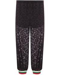 Gucci Lace Pants - Black