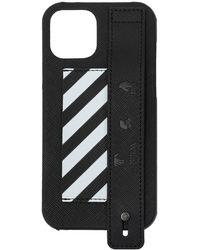 Off-White c/o Virgil Abloh Iphone 12 Pro Max Case Unisex Black