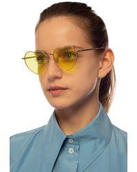 Undercover Sunglasses - Yellow