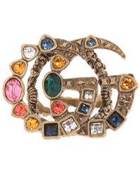 Gucci - Ring With A Logo - Lyst