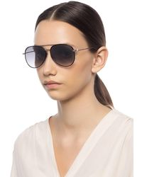 Jimmy Choo 'reto' Sunglasses - Black