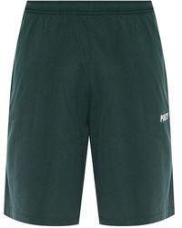 Vetements Printed Shorts - Green