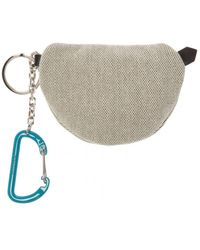 Givenchy Keyring With Pouch Grey