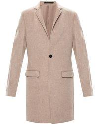 AllSaints 'manor' Wool Coat - Natural