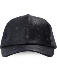 MCM Branded Baseball Cap - Black