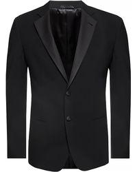 Giorgio Armani Wool Suit - Black