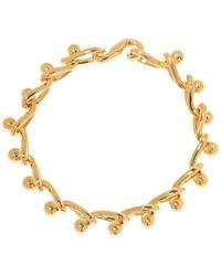 Loewe Chain Necklace Gold - Metallic