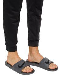 Nike 'benassi Solarsoft' Slides Grey