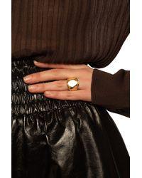 Bottega Veneta - Gold-plated Ring Gold - Lyst