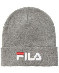 Fila Logo Hat Unisex Gray