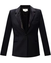 Victoria, Victoria Beckham Wool Blazer Black