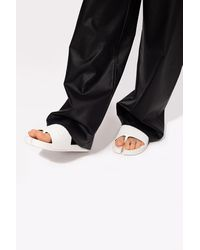 Maison Margiela 'tabi' Split-toe Slides White