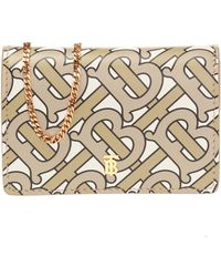 Burberry - Card Case On A Chain - Lyst