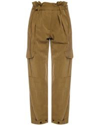 Rag & Bone Pants With A Belt - Green