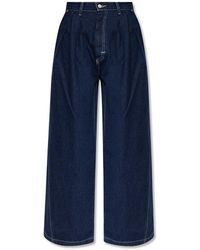 Levi's Flared Jeans 'red' Collection - Blue