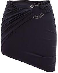 MISBHV 'hagen' Skirt With Logo - Black