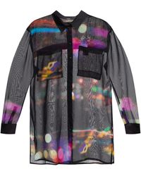 DIESEL Shirt With Vents Multicolour