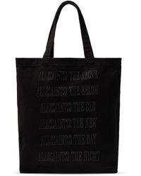 AllSaints 'stamp' Shopper Bag Black