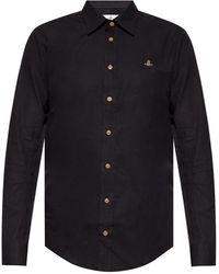 Vivienne Westwood Shirt With Logo - Black