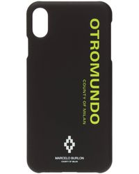 Marcelo Burlon Iphone Xs Max Case Black
