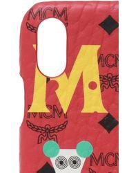 MCM Iphone Case Unisex Red
