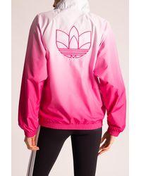adidas Originals Jacket With Logo Pink