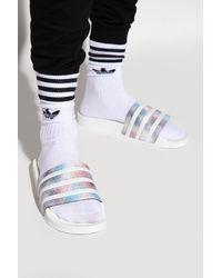 adidas Originals 'adilette W' Slides - Multicolour