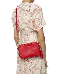 MICHAEL Michael Kors Jet Set Medium Camera Bag Bright Red
