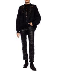 Diesel Black Gold Textured Jeans - Black