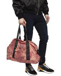 DIESEL 'dupak' Duffel Bag Burgundy - Red
