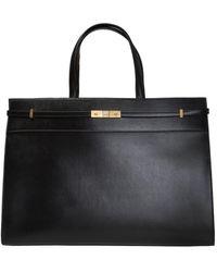 Saint Laurent 'manhattan' Shopper Bag - Black