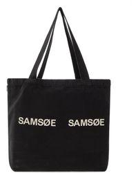Samsøe & Samsøe Shopper Bag - Black