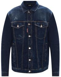 DSquared² Jacket 25th Anniversary Collection - Blue