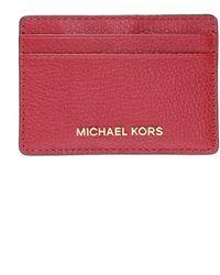 Michael Kors Leather Card Case - Multicolour