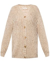 The Row Woven Cardigan Beige - Natural