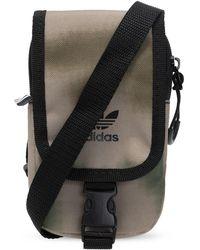 adidas Originals Branded Shoulder Bag Green
