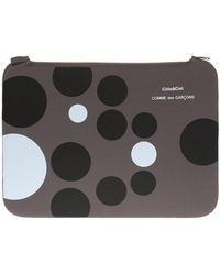 Comme des Garçons Logo Tablet Case Unisex Grey
