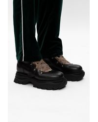 Off-White c/o Virgil Abloh Patched Boots - Black