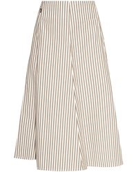 Woolrich Ribbed Skirt - Grey