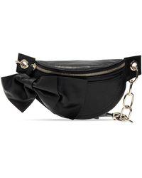 RED Valentino Branded Belt Bag Black